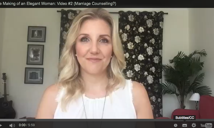 The Making of a Spiritual Woman: Video #2 (Marriage Counselling?)